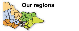 Our regions map